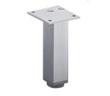 Möbelfuß Lano SQ 30 aus Aluminium silber eloxiert 100mm