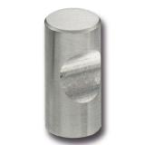 Möbelgriff -Alma- 12mm Edelstahl gebürstet