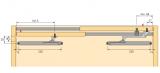 Dämpfungssystem Silent System für SlideLine 55 Plus