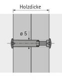 Verbindungsschraube VHS  28 - 36 mm