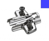 Anschraub-Kreuzmontageplatte 5mm - Direktbefestigungsschrauben