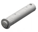 Push-To-Open Pin zum Einbohren, lichtgrau, Kurzhub