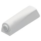Push-To-Open Pin zum Anschrauben, weiß, Kurzhub