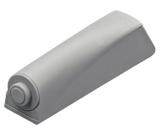 Push-To-Open Pin Strong zum Anschrauben, lichtgrau, Langhub