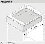 MOVENTO mit BLUMOTION S, Vollauszug 40 kg, NL=270, BLUM 760H2700S ZN