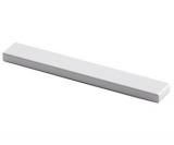 Möbelgriff  -Stabia-  Bohrabstand 128mm Aluminium eloxiert
