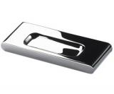 Möbelgriff  -Fermo-  Bohrabstand 64mm  Chrom glanz