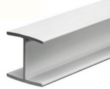 H-Profil, 19 mm, Reinweiß, 2600mm