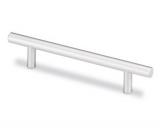Stangengriff  -Albo-  Bohrabstand 128mm Aluminium eloxiert