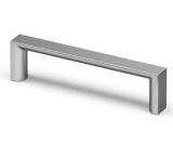 Möbelgriff  -Baldone-  Bohrabstand 128mm Zink  Chrom matt
