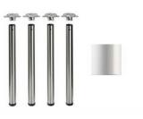 Tischbeine ø60mm x 710mm weiß (Set)