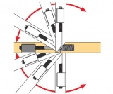 Gehrungsverbinder VB 90 - 180 T