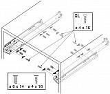 Actro 5D Vollauszug mit Silent System 250mm L bis 40kg