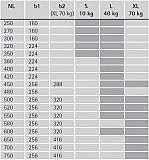 Actro 5D Vollauszug mit Silent System 520mm L bis 40kg