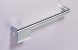 Möbelgriff  -Zenga-  Bohrabstand 192mm  verchromt glanz