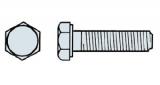 Sechskantschrauben DIN 933 verzinkt, ohne Schaft, M 6/25  ( 100 Stück )
