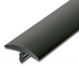 Stegkante PVC  25m  Schwarz  23mm breit