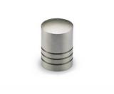 Möbelknopf -Agrinum-  Edelstahl gebürstet  18mm