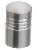 Möbelknopf -Estal-  Edelstahl gebürstet  12mm x 25mm
