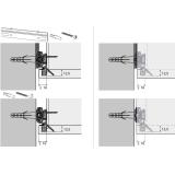 Schrankaufhänger SAH 216 (Garnitur)
