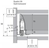 InnoTech 70mm - Nennlänge 520mm - Korpusbreite 300mm