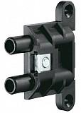 Anschraubtaschen V 3630 schwarz, Bauhöhe 6,8 mm