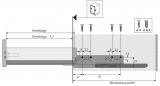 QuadroV6 Push to open für InnoTech Nennl. 260mm Korpusseite 19mm